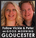 Vickie & Peter's blog on Good Morning Gloucester